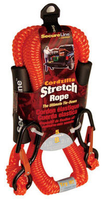 Cordzilla Bungee Cord Stretch Rope 5 ft. L 400 lb. 1 pk