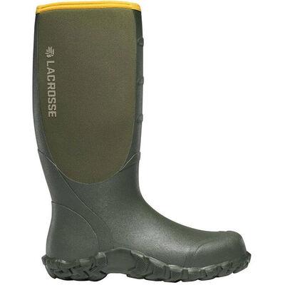 Lacrosse Alpha Lite Boots Green 16in 5mm Neoprene Size 08