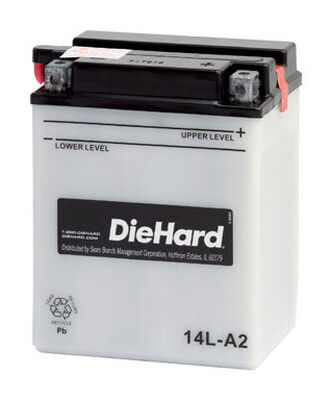 DieHard Powersport Battery 14 amps