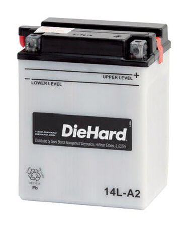 DieHard Powersport Battery 14 amps
