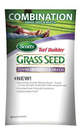 Scotts Turf Builder Zoysia Partial Shade Seed & Mulch 5 lb.