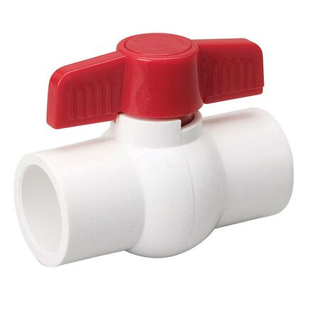 Mueller Ball Valve 1 in. Dia. PVC Ball