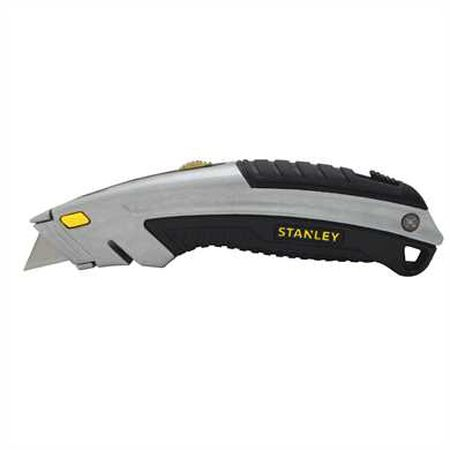 Stanley InstantChange Retractable Blade 6-1/2 in. L Utility Knife Silver