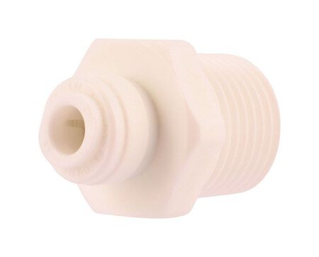 SharkBite Push to Connect 1/4 in. Dia. x 1/2 in. Dia. MIP Threaded Adapter