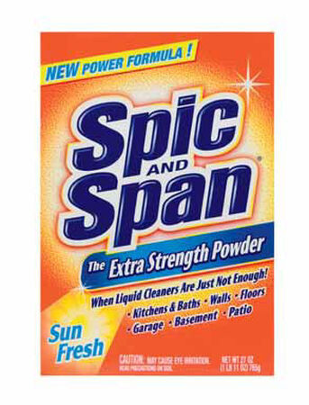 Spic & Span Extra Strength Sun Fresh Scent All Purpose Cleaner 27 oz. Powder For Multi Surface