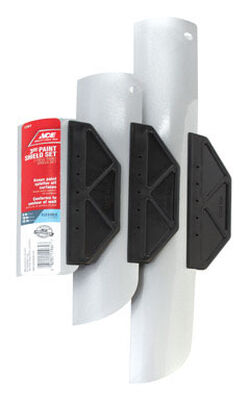 Ace Paint Shield Sets 6 10 15 in. L Aluminum/Steel