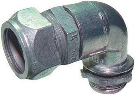 Sigma 1/2 in. Dia. Zinc Electrical Conduit Connector EMT For Terminating steel EMT conduit to an