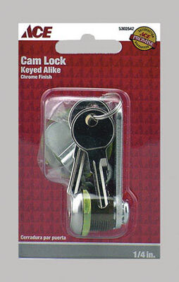 Ace Chrome Cam Lock