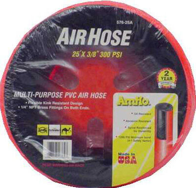 Amflo PVC Air Hose 1/4 in. x 25 ft. L 300 psi