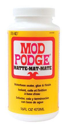 Mod Podge Matte Waterbase Sealer Glue & Finish 16 oz.