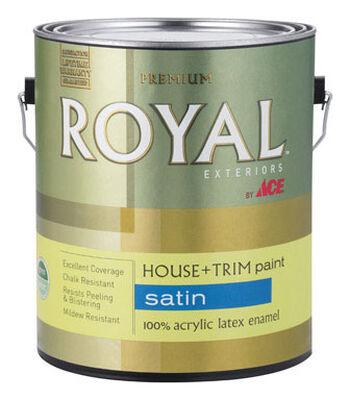 Ace Royal Acrylic Latex House & Trim Paint & Primer Satin 1 gal.