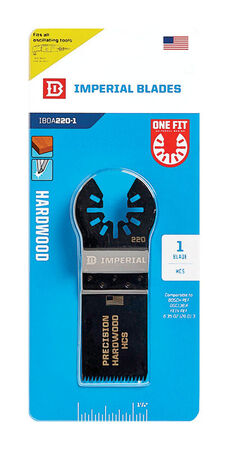 """Imperial Blades One Fit 1-1/4"""" Japanese Tooth Hardwood Blade, 1PC"""