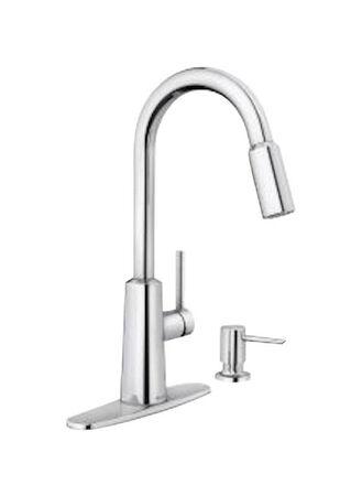 Moen Nori One Handle Chrome Pulldown Kitchen Faucet
