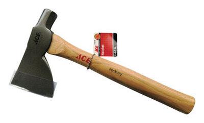 Ace 1-1/2 oz. Beveled Strike Face Hickory Hammer Hatchet Carbon Steel