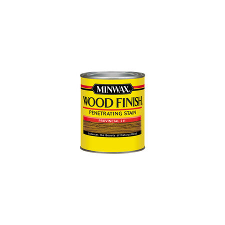 Minwax Wood Finish Semi-Transparent Provincial Oil-Based Wood Stain 0.5 pt.