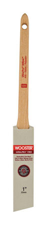 Wooster Ultra Pro Firm 1 in. W Angle Nylon Polyester Trim Paint Brush