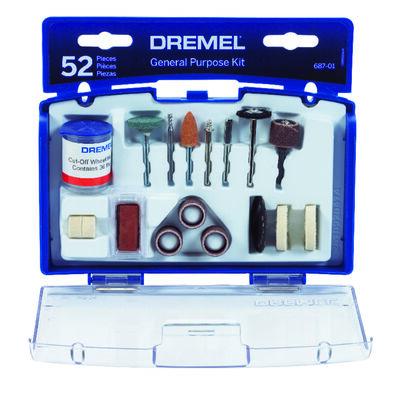 Dremel Grinding Stone Moto Tool Kit 50 pk