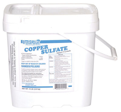Crystal Blue Copper Sulfate Algae Control
