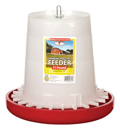 Little Giant 11 lb. Poultry Feeder
