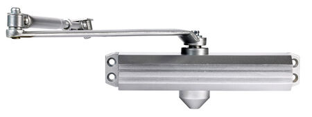 Tell Adjustable Door Closer Hydraulic Grade 1 Aluminum