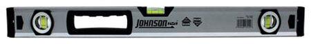 Johnson Aluminum Box Beam Level 24 in. L