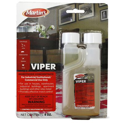 Martin's Viper Insect Killer For Roaches Ants Spiders Other Insects 4 oz.
