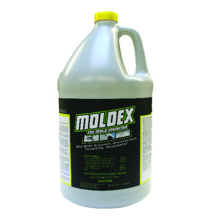 Moldex Mold Inhibitor Bottle 1 gal. Can be Used on Carpet Cushion, Sub Floors, Drywall, Trim and Fra
