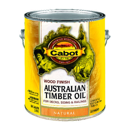 Cabot Transparent 19400 Neutral Oil-Based Natural Oil/Waterborne Hybrid Australian Timber Oil