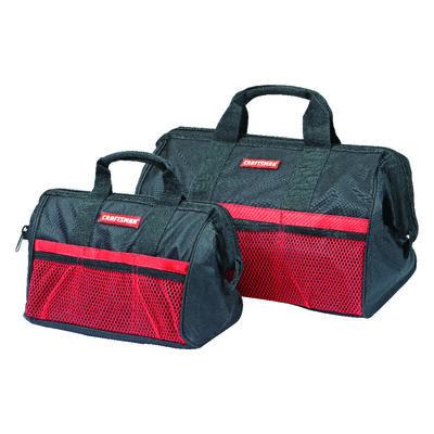 Craftsman Ballistic Nylon Tool Bag Set 13 18 in. H