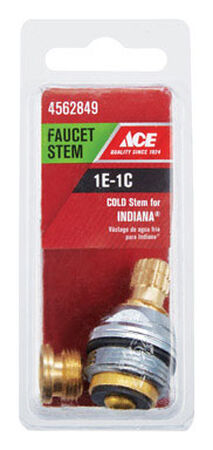 Ace Low Lead Cold 1E-1C Faucet Stem For Indiana Brass
