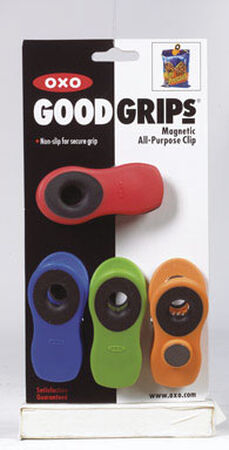 Oxo Good Grips 3 in. L All-Purpose Magnetic Clips Assorted Colors