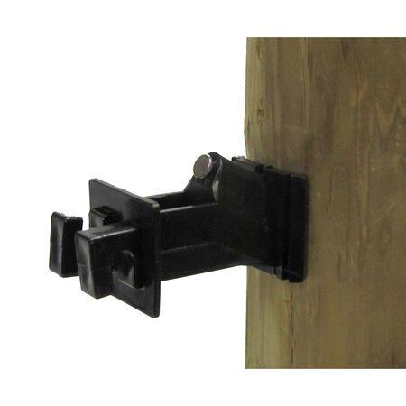 Dare Products  Wood Post Insulator  Black