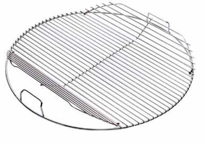 Weber Hinged Plated Steel Charcoal Grate 1-3/4 in. H x 21-1/2 in. W x 22-5/16 in. D