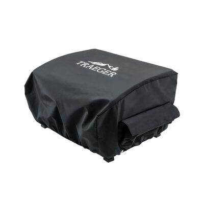 Traeger Ranger or Scout Black Grill Cover 21 in. W x 20 in. D x 13 in. H For Ranger or Scout