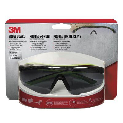 3M Performance Multi-Purpose Safety Glasses Antifog Gray Lens Gray Frame Blister Pack