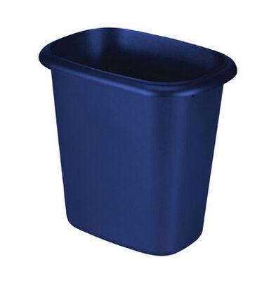 Rubbermaid 6 Royal Blue Open Top Wastebasket