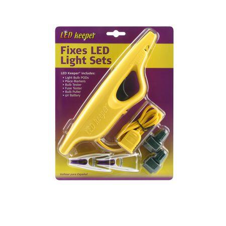 LED Keeper Christmas Light Repair Tool Yellow Plastic 1 pk