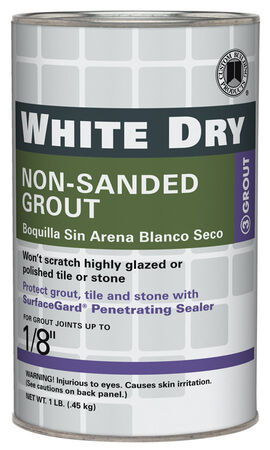 Custom White Grout 1 lb.