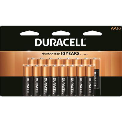 Duracell Coppertop AA Alkaline Batteries 1.5 volts 16 pk