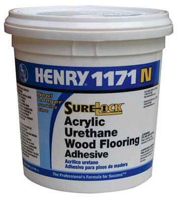 Henry 1171 N SureLock Acrylic Urethane Wood Flooring Adhesive 1 gal.