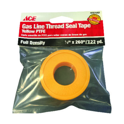Ace 1/2 in. W x 260 in. L Thread Seal Tape