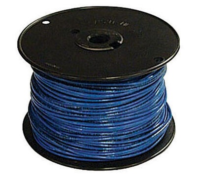 Southwire 500 ft. 14/3 THHN Stranded Wire Blue