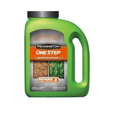 Pennington One Step Complete Bermuda Full Sun Seed Mulch & Fertilizer 5 lb.