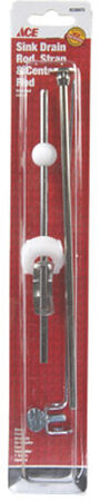 Ace Sink Drain Rod and Strap Chrome Nickel
