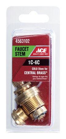 Ace Low Lead Cold 1C-6C Faucet Stem For Central Brass