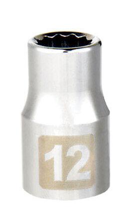 Craftsman 12 Alloy Steel Standard Socket 1/2 in. Drive in. drive