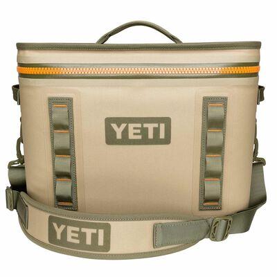 YETI Hopper Flip 18 Cooler Bag Blaze Orange/Field Tan