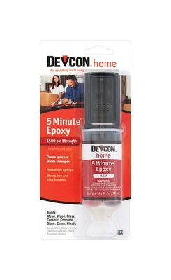 Devcon Home 5 Minute Epoxy .84 oz.