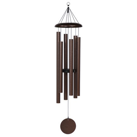 "Corinthian Bells, 50"" Copper Vein Windchime"