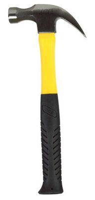 Ace 16 oz. Round Face Fiberglass Claw Hammer Steel
